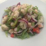 Refreshing ceviche
