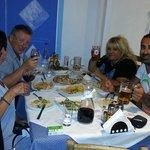 Middag med greske venner