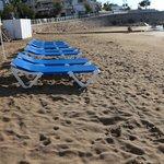 beach in front of San Sebastian Playa Hotel