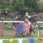 The jousting was great!