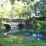 parc et rivière