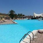 Vista della piscina grande