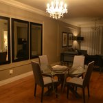 Our Suite lounge dinning area