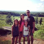 Our tour guide took this photo on Little Round Top