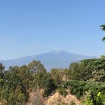 the Mount Etna view
