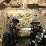 Underground at the Western Wall