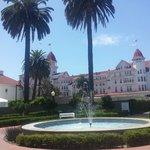 Front of Hotel Del Coronado