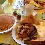 The Sean breakfast at Penn Yan Diner