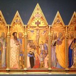 """The exquisitely detailed """"Virgin and Child Triptych"""" [1325-1350]"""