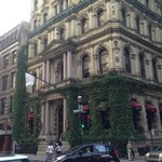A Five Star Hotel frequented by celebrities, Hotel Le St-James