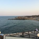 lovely view of Punta Prima beach from the balcony.