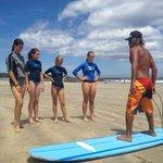 Surf lessons with Mata at Playa Tamarindo