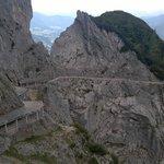 Verso l'entrata delle Grotte di Ghiaccio di Werfen