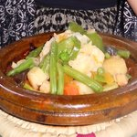 Vegetable tagine!