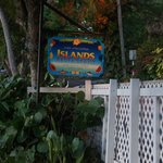 Islands - great beachside lunch restaurant