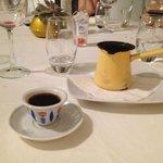 Turkish Coffee to finish