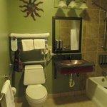un peu tristoune la salle de bain