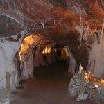 Tuneles al interior de la mina.....