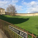 View of the Royal Crescent - gorgeous