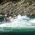 Fun in the rapids