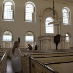Inside the Old Meeting House