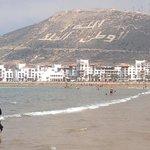 Местность на пляже Агадир