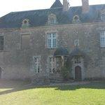 Château vue cour intérieure