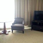 TV in the corner