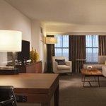 Suite Separate Living Area