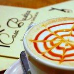 Caramel Latte at Casa Rustica