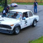 """BMW 2002 during the """"Ride-Along"""" session."""
