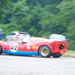 1964 Causey Special sports racer approaching the hairpin turn.