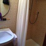 Tiny shower stall