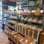 interior de la pasteleria