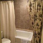 Pretty bathtub and private!