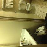 standard bathroom.  nothing fancy here