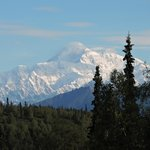 Mt. McKinley from the lodge