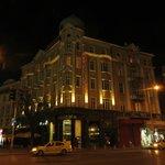 Отель, ночной вид
