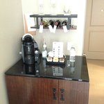 Coffee Maker and wine rack