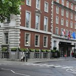 Front entrance from the Grosvenor Square side