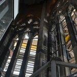O interior da torre da Igreja de St. Nikolai -  Hamburgo