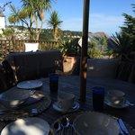 Breakfast on the Garden Terrace