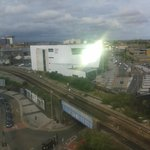 view from room 701 (cardiff uni)