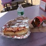 The lunch- luscious lobster roll!