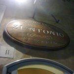 l'esterno del ristorante Zi'Ntonio