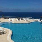vue piscine en journée