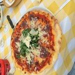 Pizza parmaschinken rucola