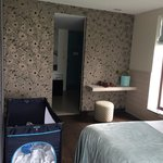 Welness suite bedroom and bathroom