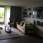 Living room in Wellness suite