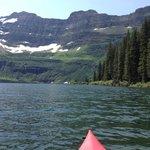 Kayak trip on Cameron Lake